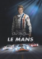 Steve McQueen in Le Mans - cover