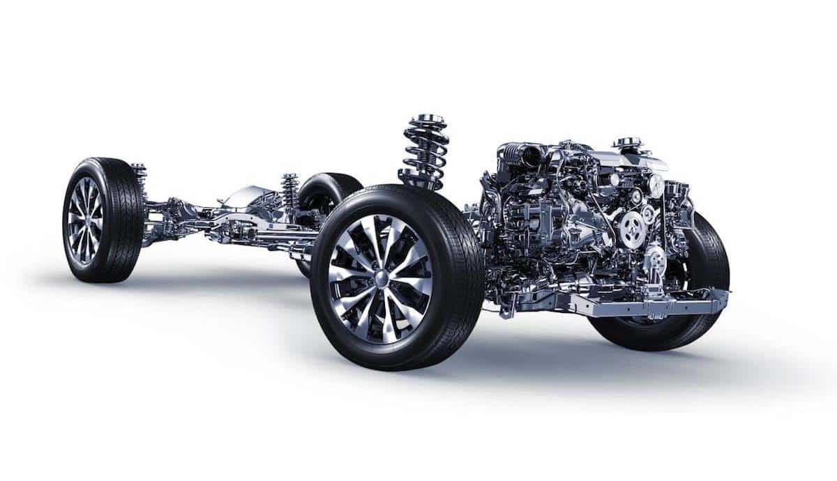 Subaru all-wheel-drive with boxer engine