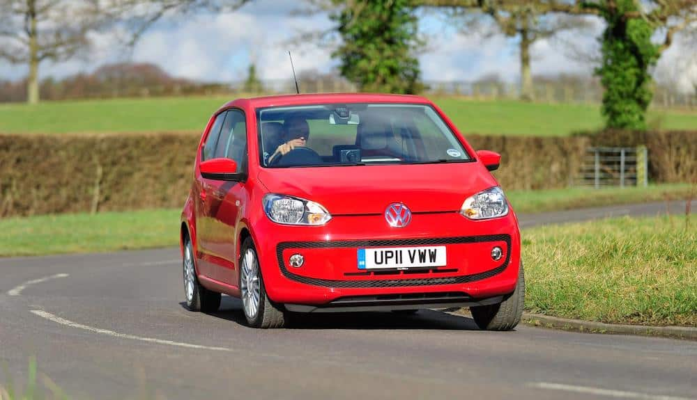 Volkswagen up! - third place in safe used first car 2017