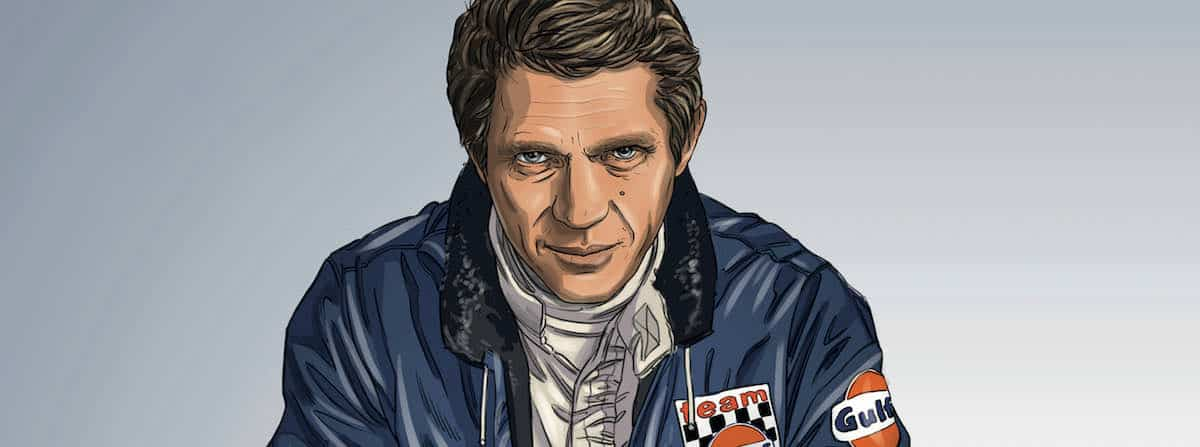 Steve McQueen in Le Mans - Michael Delaney