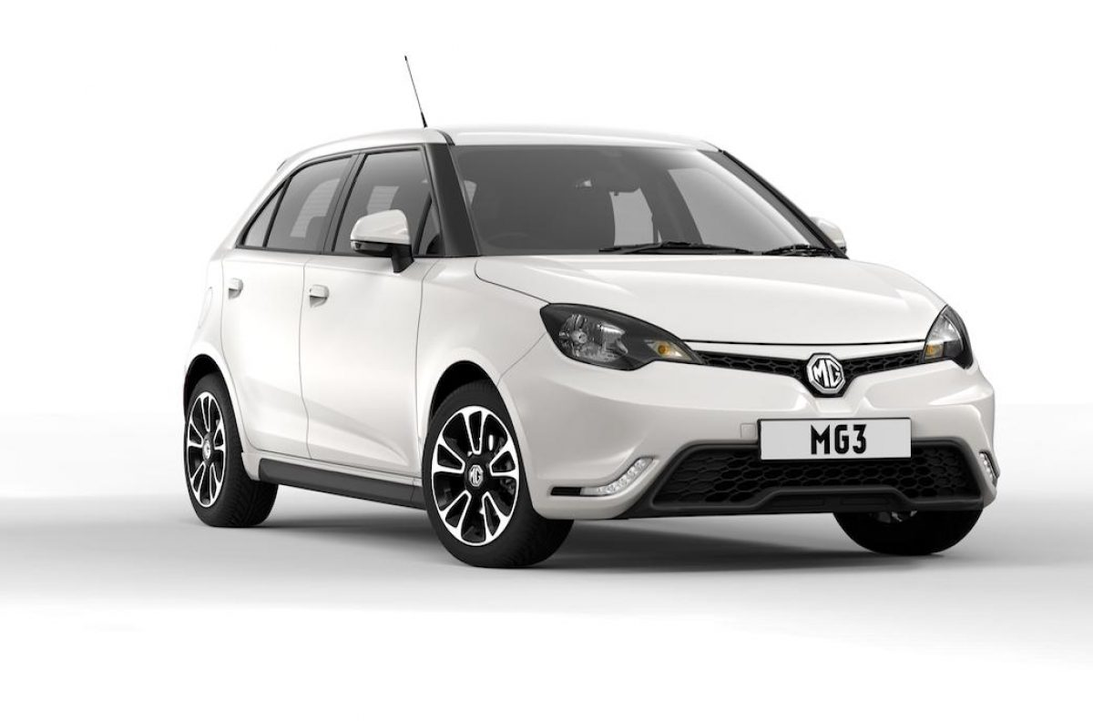 MG MG3 low deposit finance offer (The Car Expert)