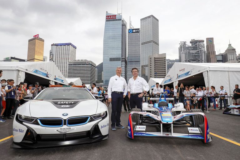 BMW to go electric racing in Formula E