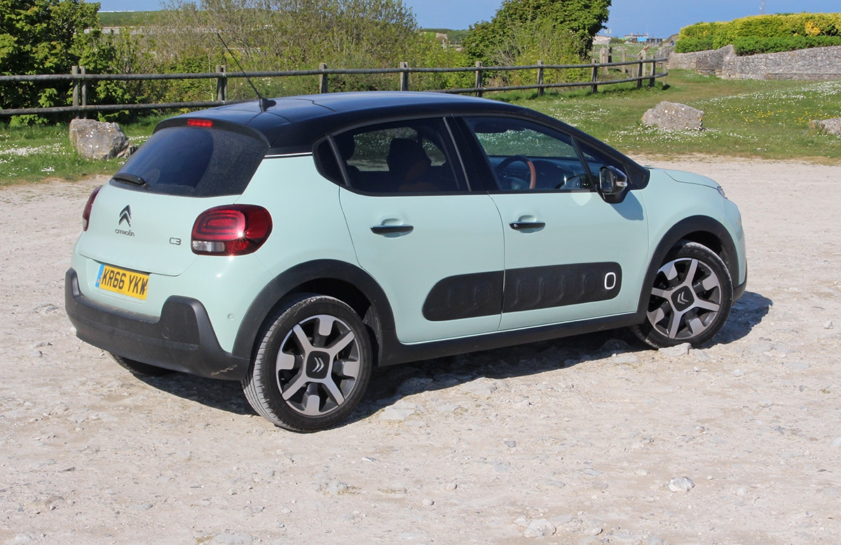 Citroën C3 rear 34