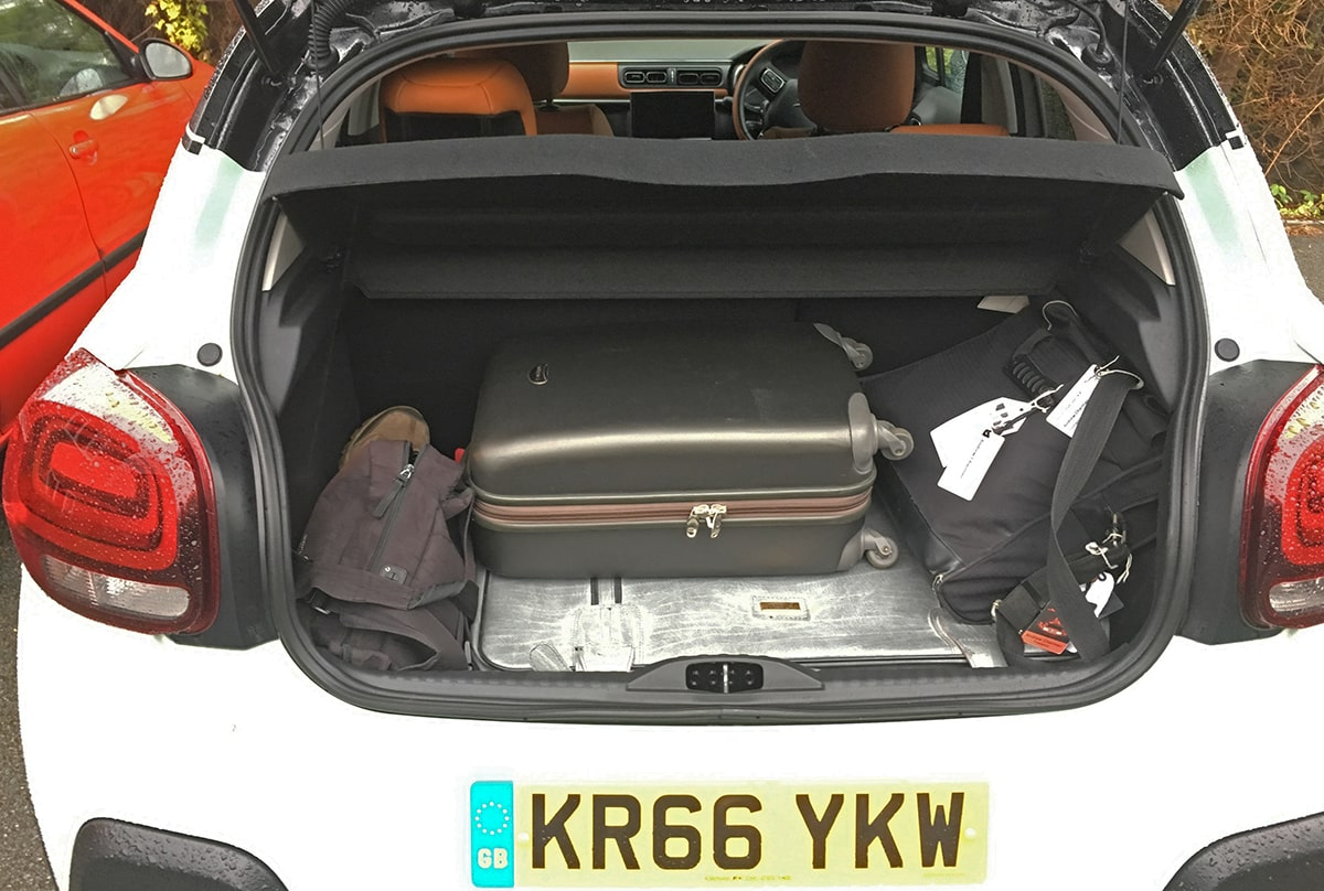 Citroën C3 boot