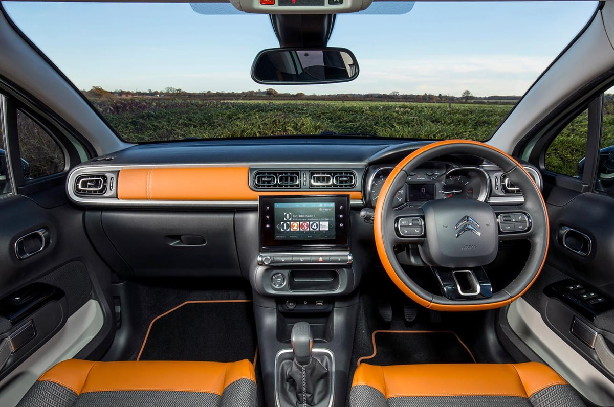 Citroën C3 dash
