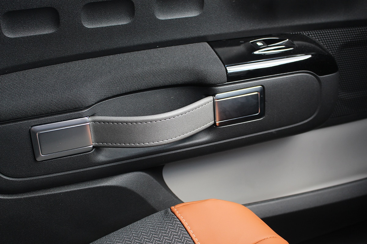 Citroën C3 handles