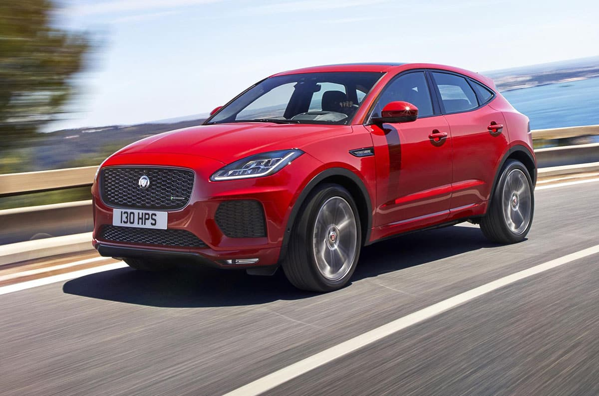 Jaguar E-Pace dynamic
