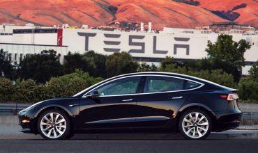 'Mass market' Tesla Model 3 goes into production