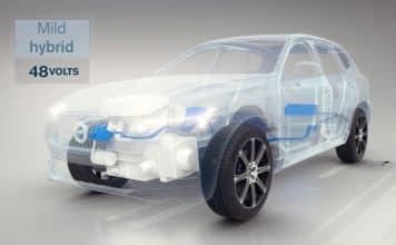 Volvo mild hybrid