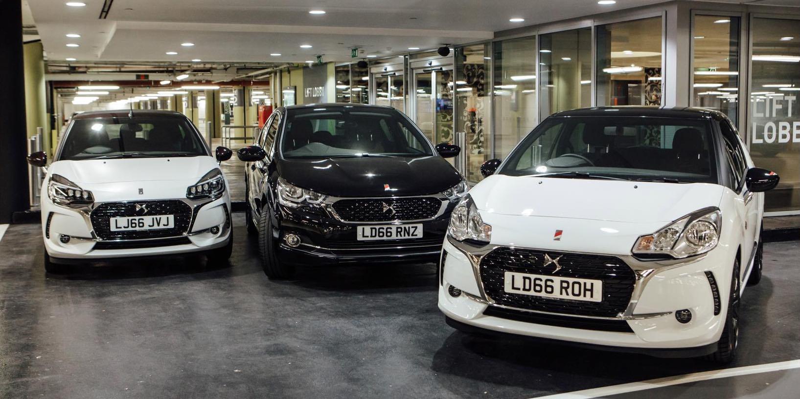 DS Automobiles range 2017