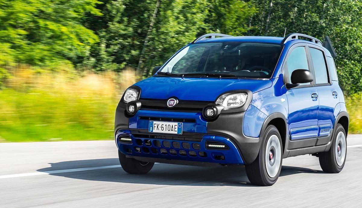 New Fiat Panda City Cross in Electronica Blue