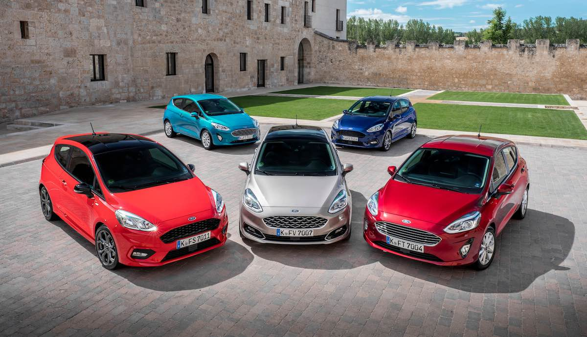 Ford Fiesta ST-Line, Vignale and Titanium models