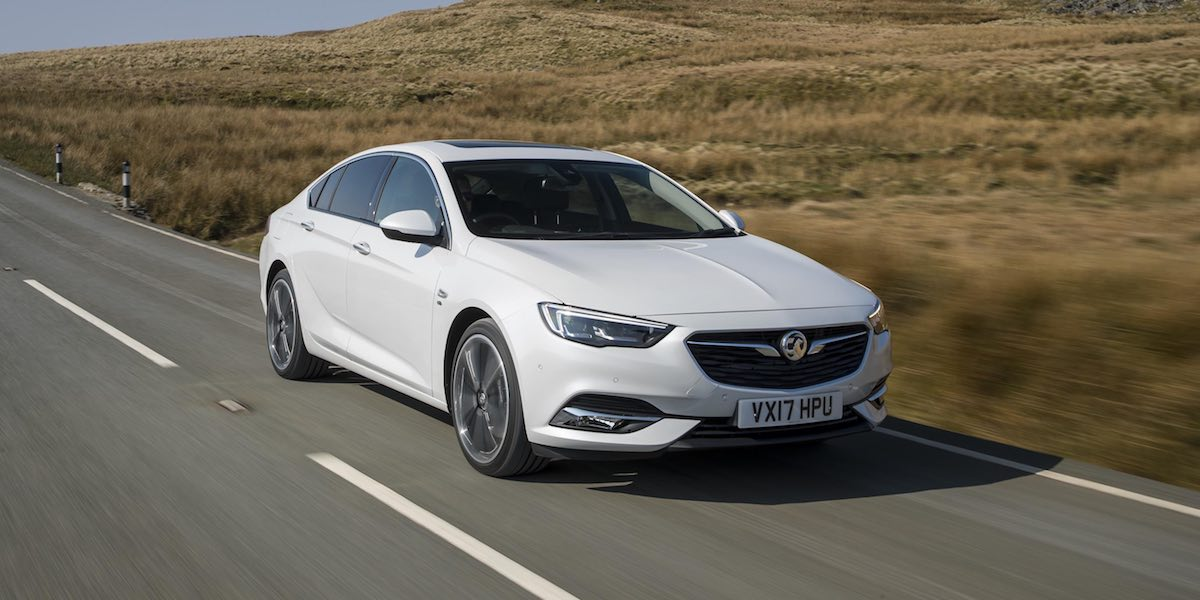 Vauxhall Insignia Grand Sport - July 2017