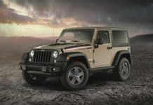 Limited edition Rubicon Recon Jeep Wrangler