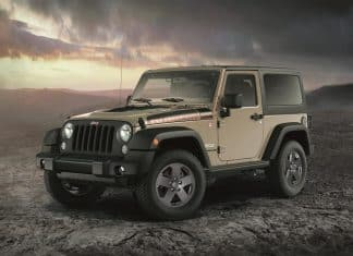 Limited edition Rubicon Recon Jeep Wrangler