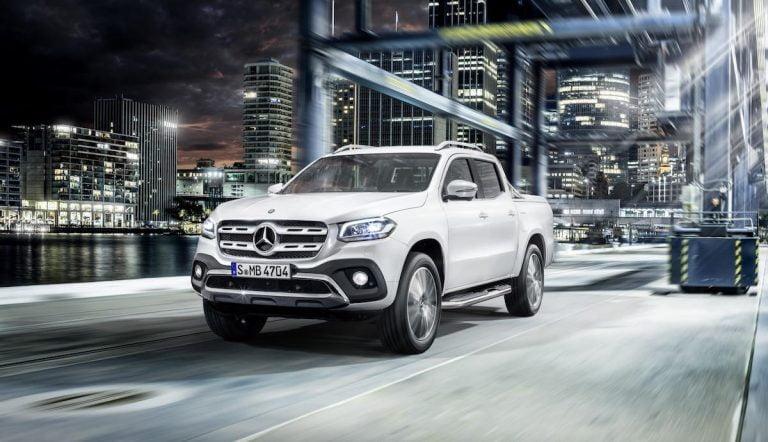 Mercedes-Benz X-Class: a lifestyle pick-up