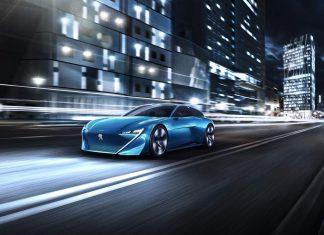Peugeot Instinct hybrid concept car