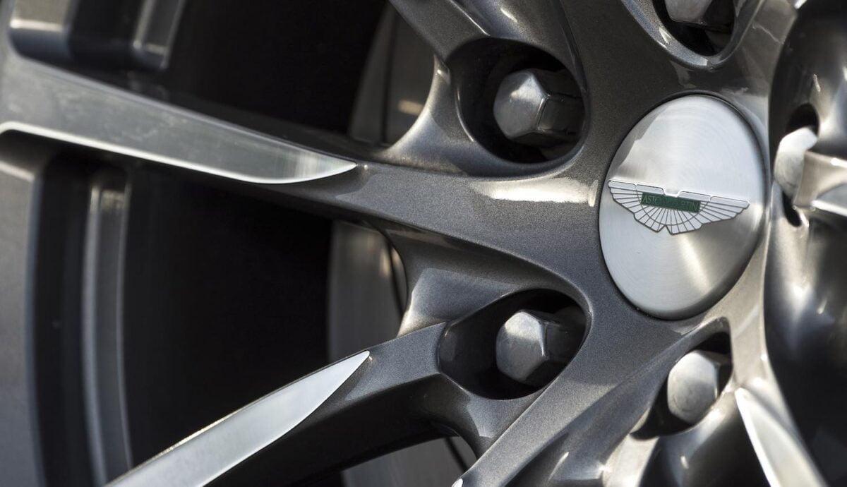 Aston Martin Rapide wheel