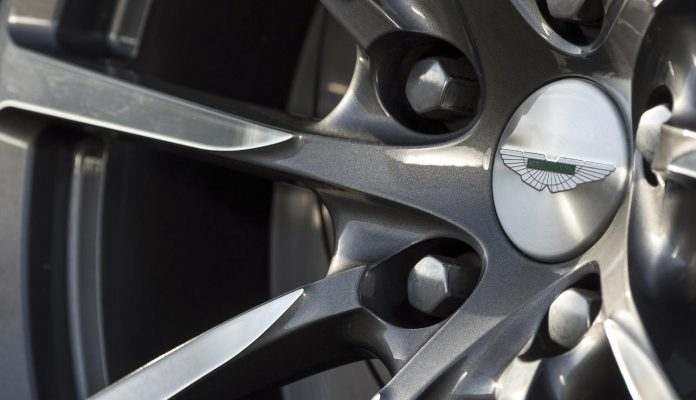Aston Martin Rapide wheel