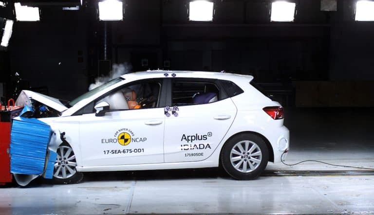 SEAT Ibiza leads a field of five-star Euro NCAP ratings
