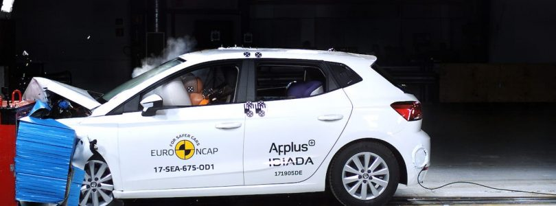 SEAT Ibiza gets five-star Euro NCAP safety rating