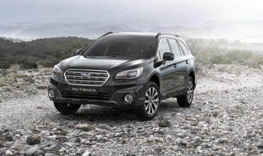 Black & Ivory Subaru Outback