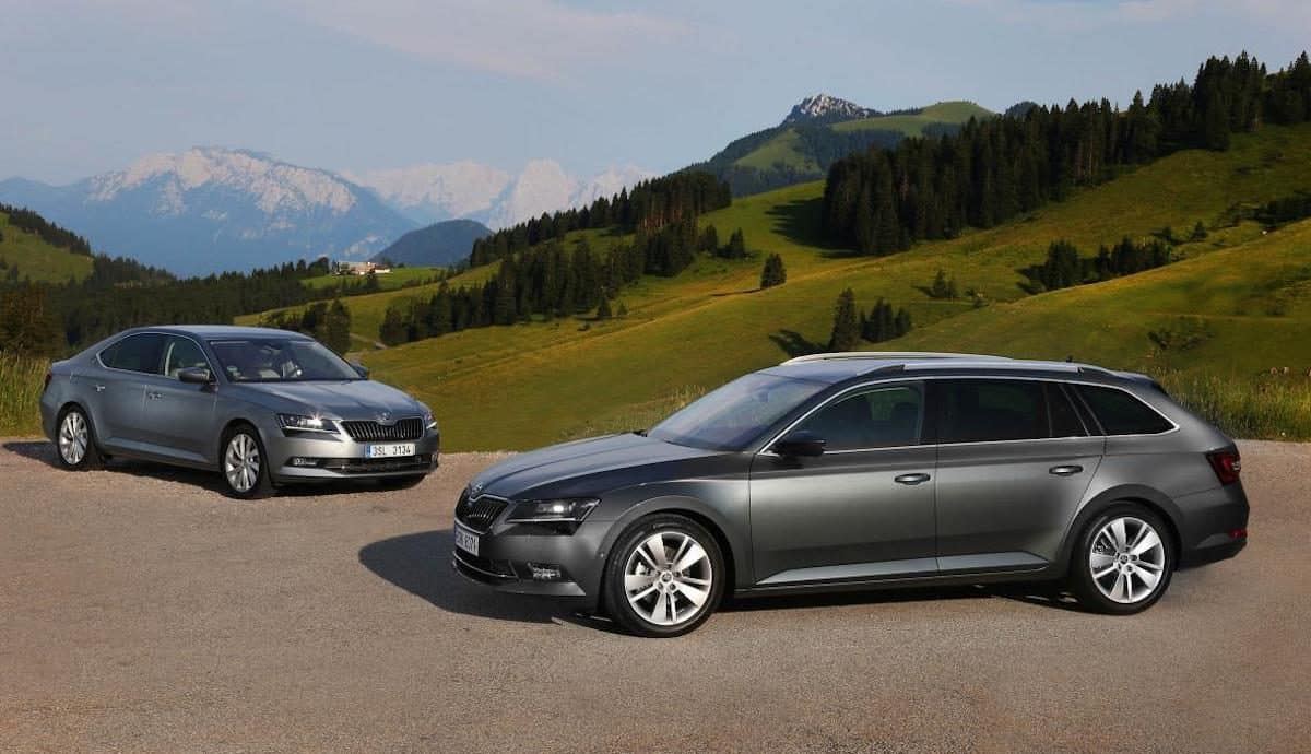 Skoda has added new petrol engines to its Octavia and Superb