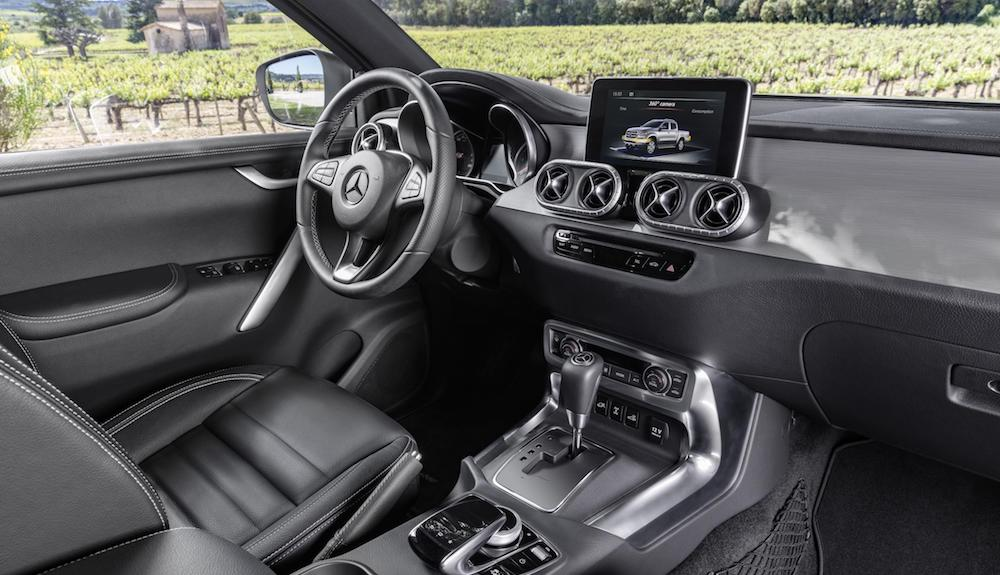 New Mercedes-Benz X-Class Interior