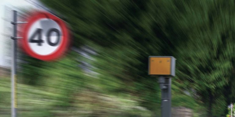 I've been caught speeding by a speed camera – what happens now?