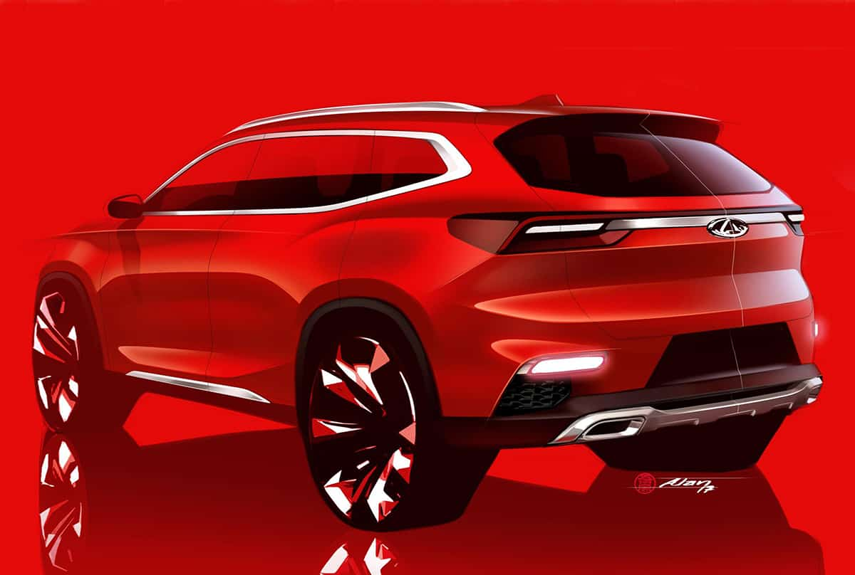 New tease of Chery SUV for Europeans