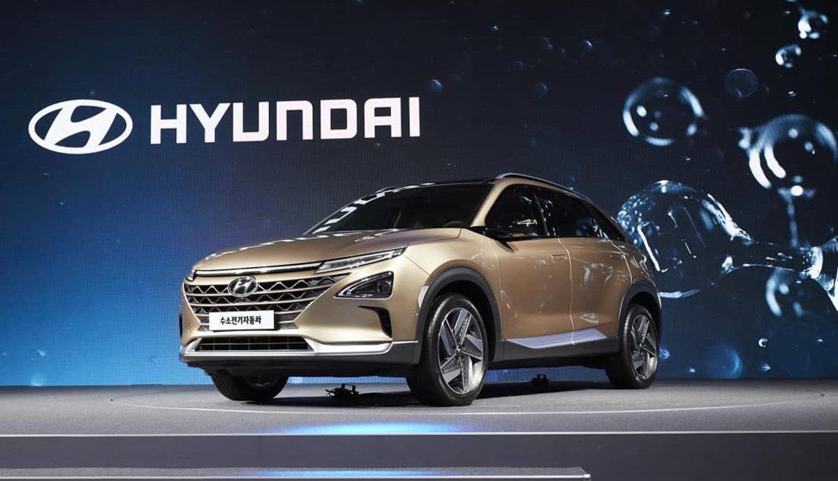 Hyundai fuel cell vehicle