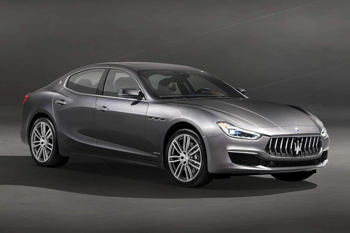 Maserati Ghibli gains a minor facelift
