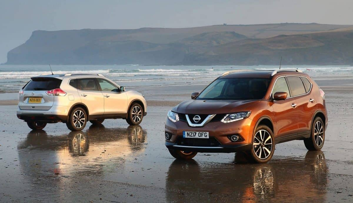 Nissan X-Trail is part of the new part-exchange offer