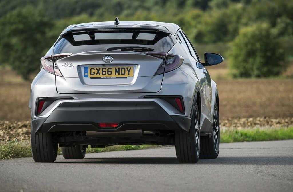 Toyota C-HR - rear dynamic (The Car Expert)