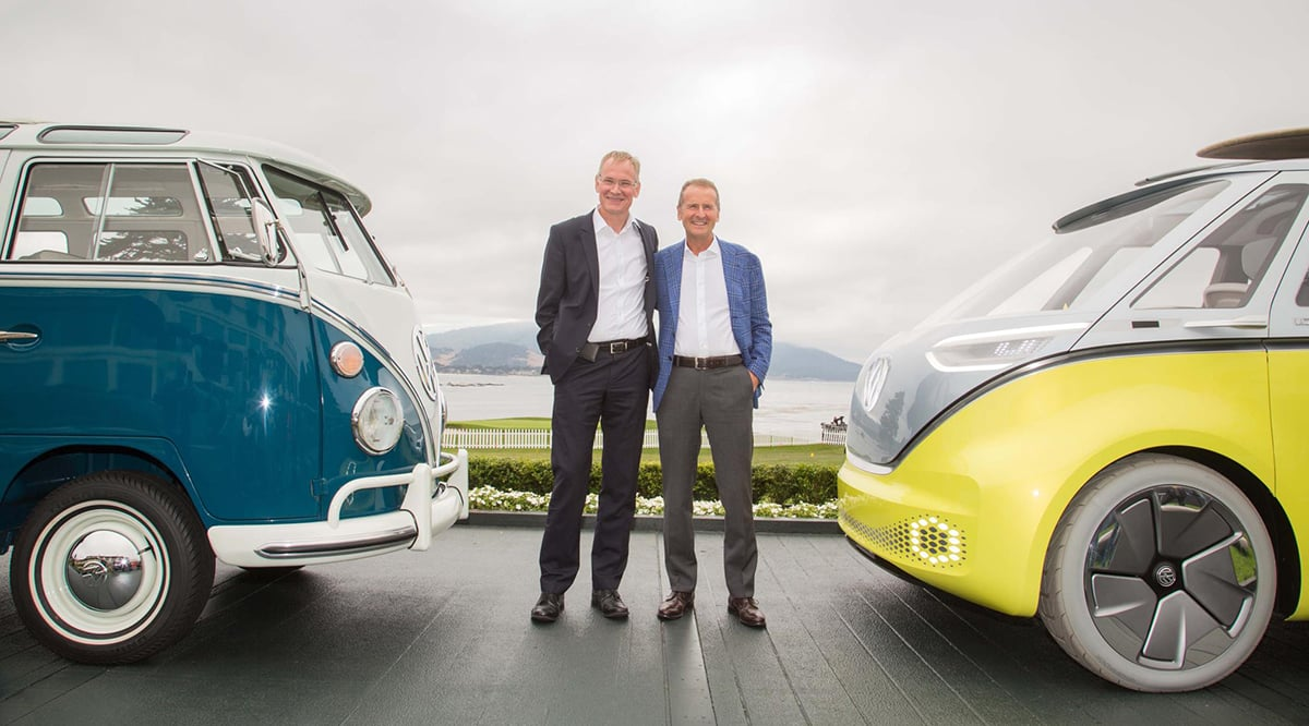 Volkswagen to produce electric version of Microbus