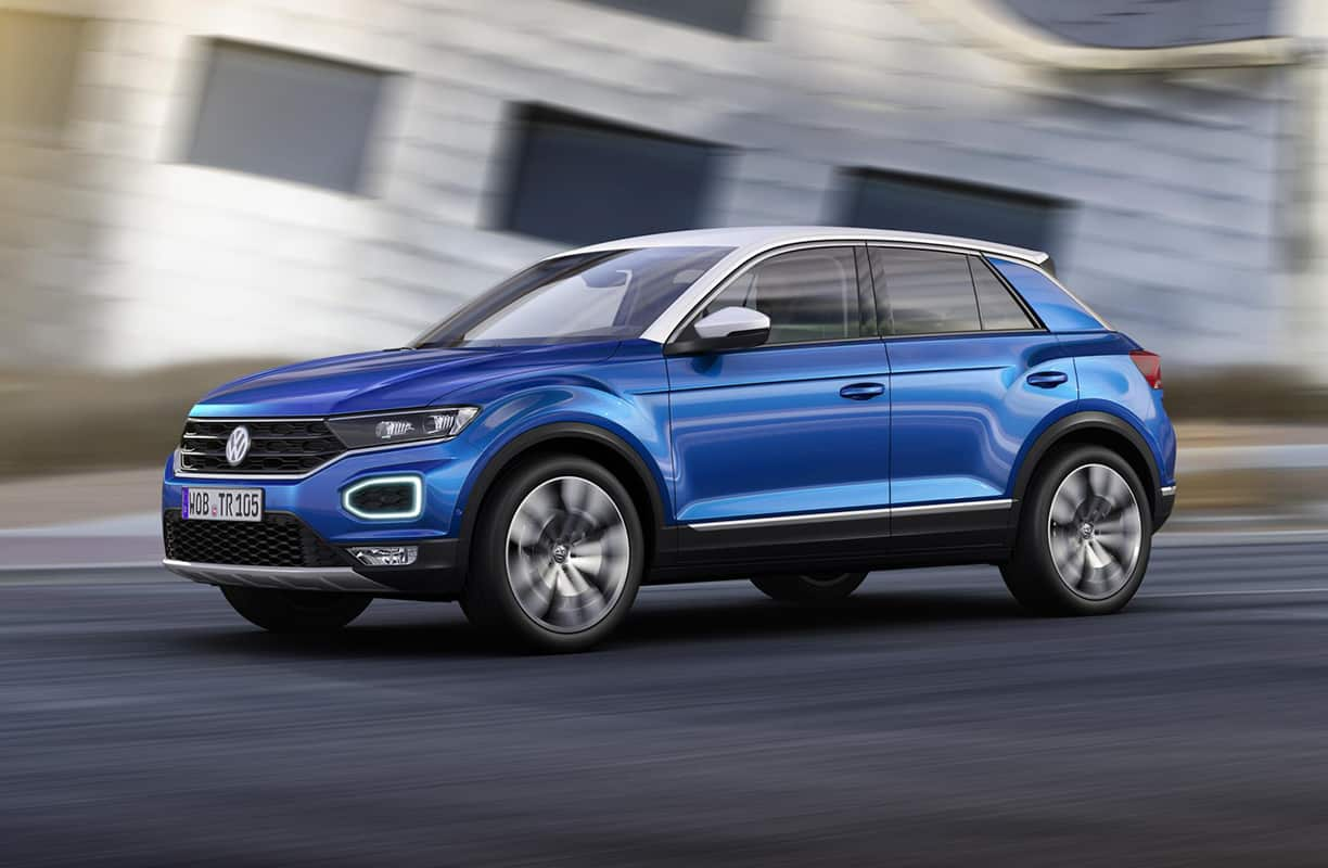 Volkswagen T-Roc SUV 'to appeal to all'