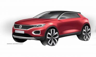 Volkswagen T-Roc sketch