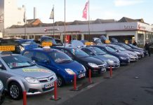Used car sales fell significantly in Q2 2017