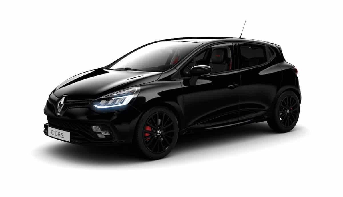 Black Edition pack for Clio Renault Sport
