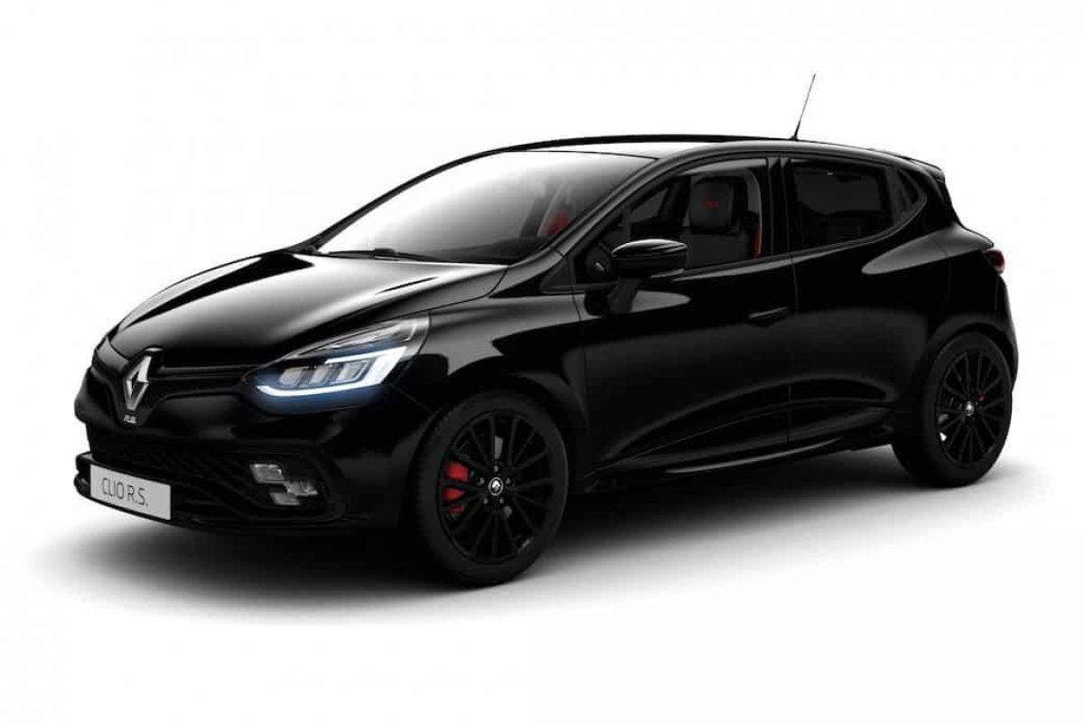 Wonderful Black Edition Pack For Clio Renault Sport