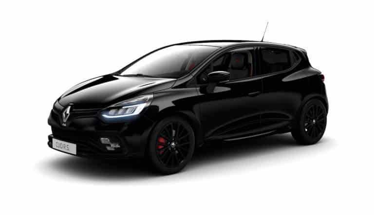 Black Edition personalisation pack for Clio Renault Sport