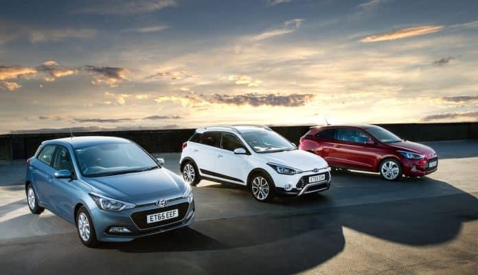 Hyundai i20 range
