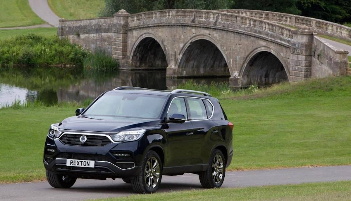 Fourth-generation SsangYong Rexton