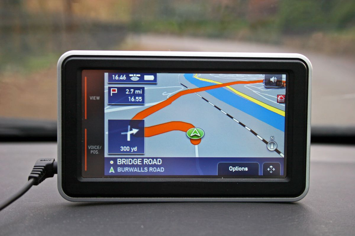 Using a satnav is now part of the driving test