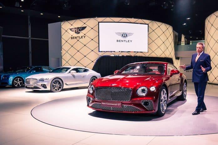 Frankfurt: Bentley Continental GT a 'milestone' model 1