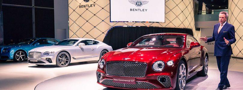 Frankfurt: Bentley Continental GT a 'milestone' model