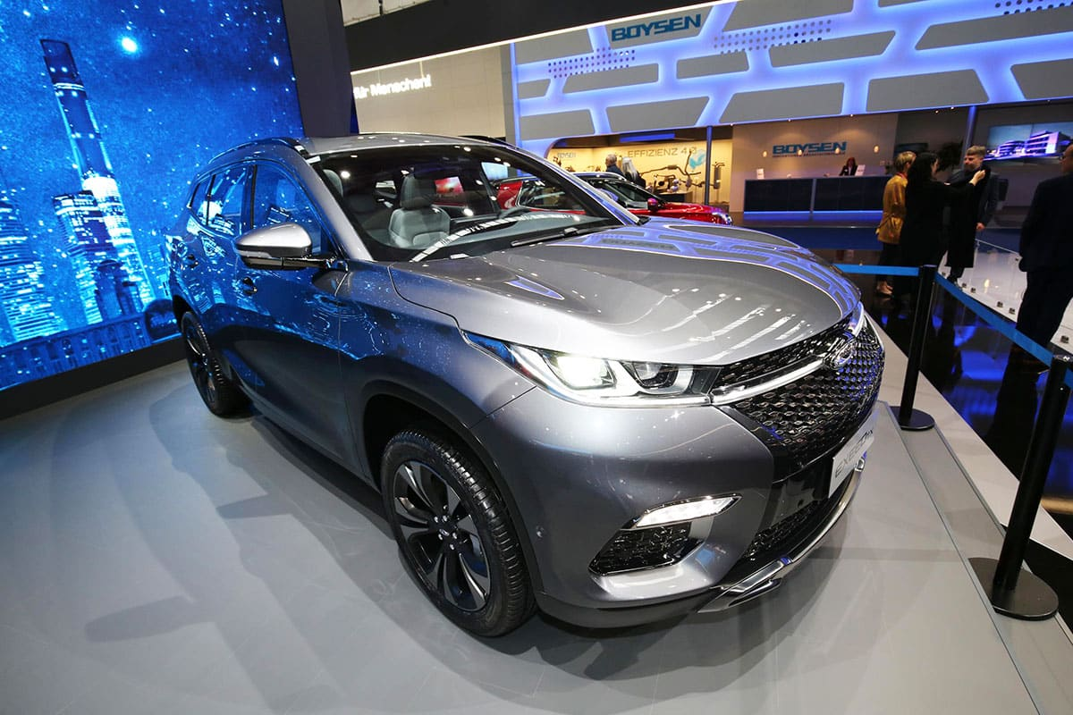 Chery Exceed Frankfurt show The Car Expert