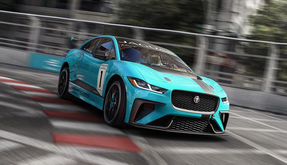 Frankfurt: Jaguar to create electric I-Pace race series