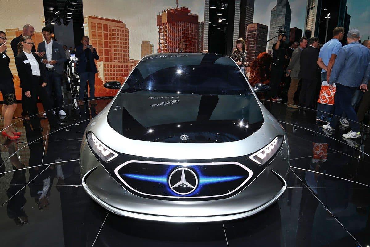 Mercedes-Benz EQA Frankfurt The Car Expert