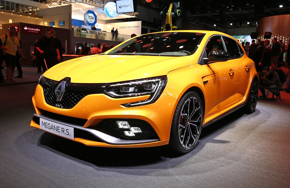 New 276bhp Renault Megane RS hot hatch lands in Frankfurt